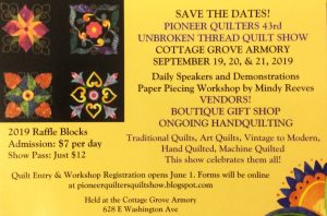 Pioneer Quilt Show